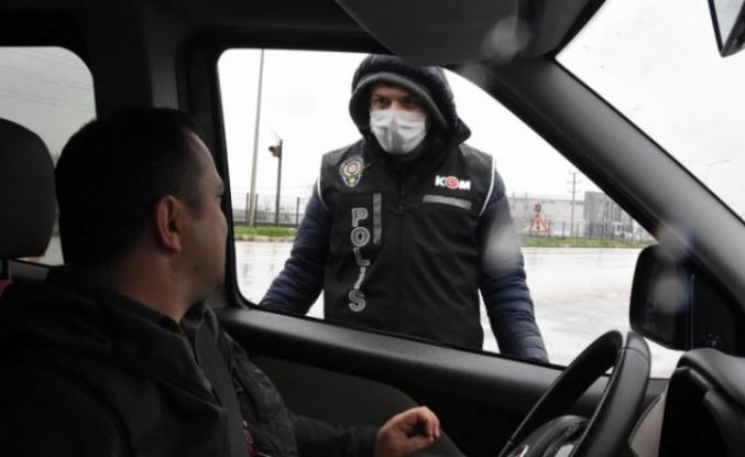 Bursa'da şehirlerarası seyahat kısıtlama uygulaması başladı