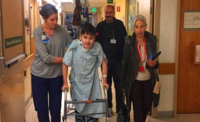 Bursalı Kayra'nın annesi: Ameliyat başarılı geçti, çok mutluyum