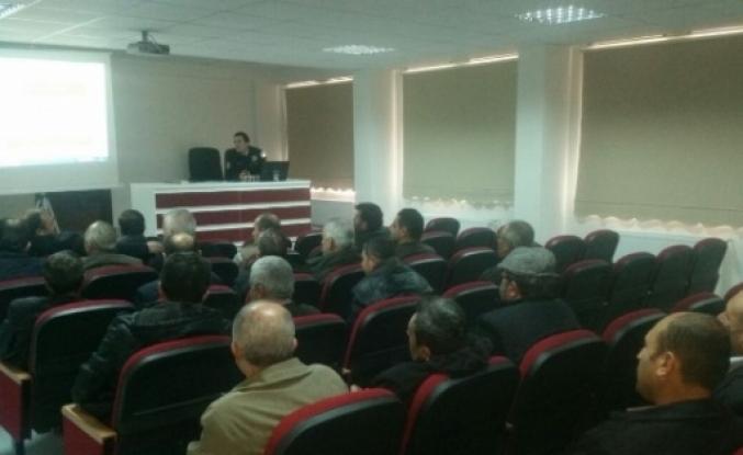 OSMANELİ'DE SERVİS ŞOFÖRLERİNE SEMİNER