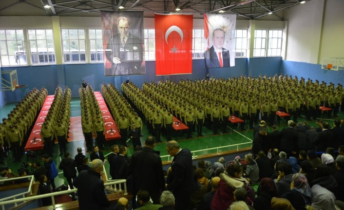 Bursa'da 410 gece bekçisi yemin etti
