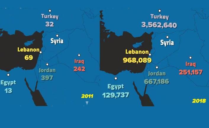 8 yılın Suriyeli haritası