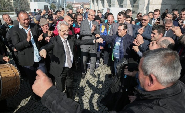 Nilüfer'de davullu zurnalı toplu sözleşme