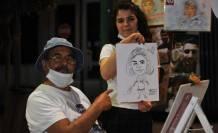 Bursa'da 50 yıldır aynı parkta resim çizen Akkoç: Buraya büstümün dikilmesini istiyorum