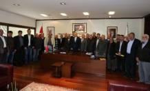 Bozkurtlu Muhtarlardan Başkan Zolan'a Ziyaret