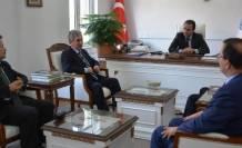 Emniyet Müdürü İşlek'ten Kaymakam Erkan'a Veda Ziyareti