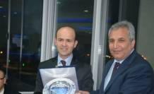 Samsun'a Atanan Fatsa Sgk Müdürü'ne Veda Yemeği