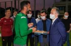 Başkan Aktaş'tan Bursaspor'a prim müjdesi!
