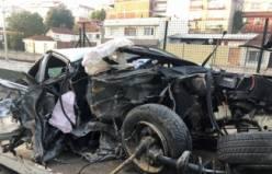 Bursa'da can alan korkunç kaza! O anlar saniye saniye kamerada...