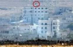 Kobani'de IŞİD bayrağı!