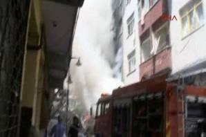 Zeytinburnu'nda patlama! Yaralılar var...
