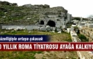 2000 yıllık Roma Tiyatrosu ayağa kalkıyor