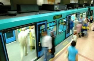 Bursa'da metro seferleri durdu!
