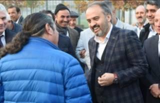 Başkan Aktaş'tan geleneksel sofra