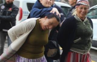 Uyuşturucu taciri kadının pişkinliği pes dedirtti!
