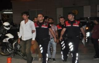 Bursa'da motosiklet hırsızları yolda kalınca...