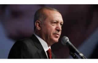 Cumhurbaşkanı Erdoğan'dan Hanuka Bayramı...