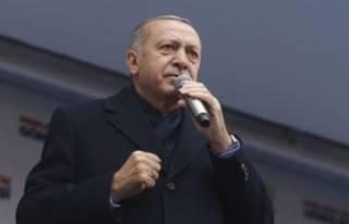 Cumhurbaşkanı Erdoğan: Verdiğimiz mesajları ne...