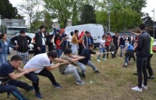 Geleneksel Kırgız Şenliği İznik'te gerçekleşti