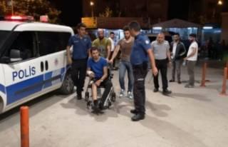 Bursa'da hastaneden kaçan baba-oğul terör...