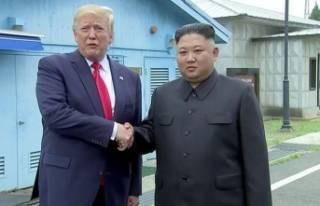 "Trump - Kim ""silahsızlandırılmış bölgede""..."