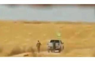 YPG/PKK'lı teröristler sivillere ait arazileri...