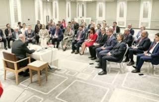 Cumhurbaşkanı Erdoğan: Sıkıntı olmadan bu süreci...