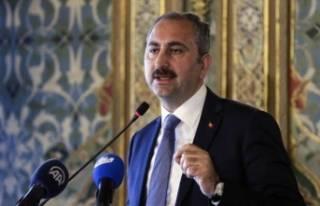 Adalet Bakanı Gül'den sert tepki: ''Bizim...