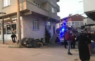 Bursa'da kapısını kırıp girdikleri evden...