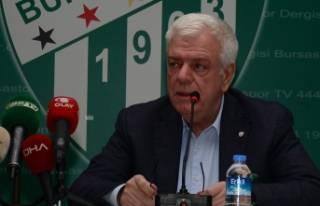 Bursaspor'da eski başkan Ali Ay kulüpten ihraç...