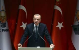 """Cumhurbaşkanı Erdoğan: """"Ülkemizi kana ve..."""