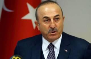 Bakan Çavuşoğlu'ndan 2 ülkeye terör tepkisi