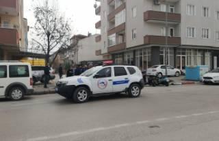 Bursa'da kovalamaca sonucu motosikletini geri...