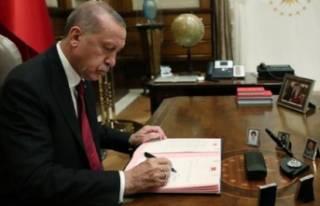 Cumhurbaşkanı Erdoğan imzaladı! Kritik atamalar