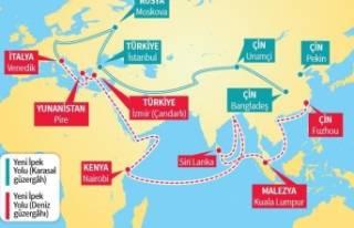 Demir İpek Yolu'ndan ilk tren Türkiye'de