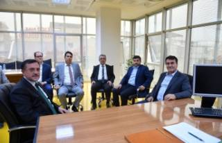 Dündar'dan Osmangazi Kent Konseyi'ne ziyaret