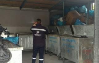 Mudanya'da ilaçlama çalışmaları devam ediyor