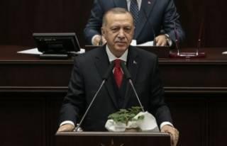 Cumhurbaşkanı Erdoğan, CHP'li Deniz Baykal'a...