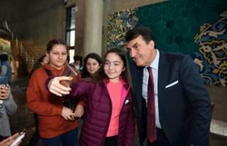 Fetih Müzesi'nde Selfie Günü kutlandı