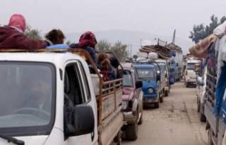 Türkiye sınırına göç sayısı 450 bine ulaştı