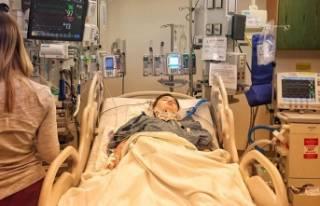 Bursalı Kayra Talha Yaman 303. kez ameliyat oldu