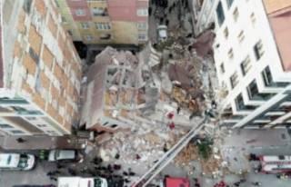 Çöken binayla ilgili merak edilen o soruya belediyeden...