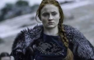 Game of Thrones dizisinin Sansa Stark'ı Sophie...