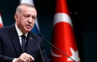 Cumhurbaşkanı Erdoğan'dan korona paylaşımı