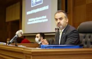 Başkan Aktaş Bursa'daki koronavirüs bilançosunu...