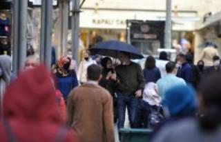 Bursa'da kısıtlama öncesi çarşı ve pazarlarda...