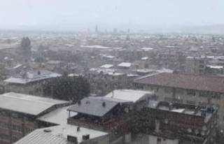 Bursa'ya dolu yağdı!