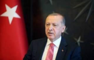 Cumhurbaşkanı Erdoğan'danbayram mesajı
