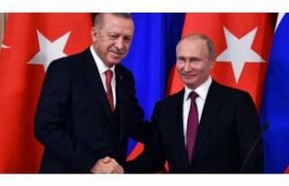 Erdoğan'dan Putin'e tebrik mesajı