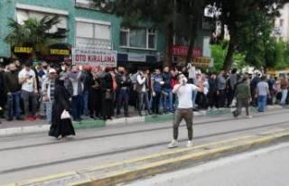 Bu insanlar nereye bakıyor? Bursa'da sosyal...