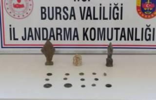 Bursa'da tarihi eser operasyonu: Frigyalılar...